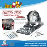 Promotional educational plastic bingo toy / educational game toy / bingo games for kids