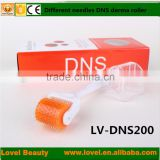 Wholesale DNS 75 200 Needles BioGenesis Eye Roller Titanium Alloy Derma Roller for mouth and nose area Microneeding Roller                                                                         Quality Choice