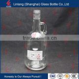 Long Exported Good Transparent Rape Seed Oil Bottle