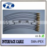 Good price SMA straight female jack bulkhead to IPEX(U.fl) connector coaxial adapter cable assembly