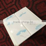 China manufacturer building material interior wall paper design false pvc ceiling decoration