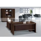 New Design MDF Luxury Solid Wood Table Modular Office Furniture Modern CEO Executive Desk