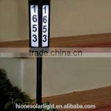 Plastic Nice Look Solar Led House Number Light