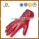 Custom high quality genuine leather gloves women