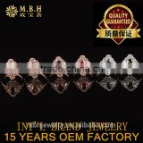 hot style rings 925 sterling silver ring inlaid natural tourmaline stone factory wholesale
