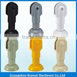 Modern Wholesale Factory Directly Bathroom Hardware Toilet Partition Cubicle Plastic WC Panel Holder