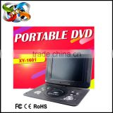 Cheap portable DVD player with digital tv tuner 12.1inch