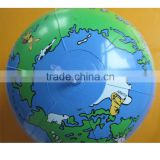 vivid map printing inflatable promotion globe beach ball