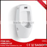 Bathroom Sanitary Wall Hung Ceramic Sensor Waterless Urinal For Men                                                                         Quality Choice