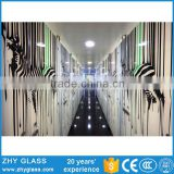 Digital Printing Glass Cleaning Equipment Building Glass