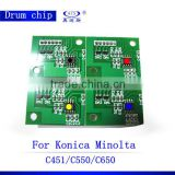 Universal chips for Konica Minolta Bizhub C451 drum chips