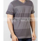 men's custom gold print bulk cheap price high quality black 100% cotton breathable O neck short T shirt