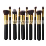 Professional Make Up Brushes 10 PCS Makeup Brushes Classic Matte Black Makeup Brush Set Beauty Makeup Tools & Accessories                                                                         Quality Choice