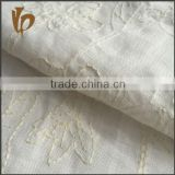 100% embroidery linen fabric for jacket