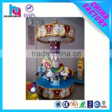 popular amusement rides manufacturer 3 Seats Carousel for Kiddie Play indoor playground items