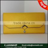 Fashion Ladies Leather Clutch Purse With Card Holder,Clutch Purse,Lady Purse With Card Slots