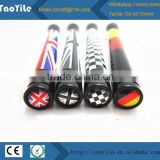 10.7cm and 7.7cm union jack UK GER flag radio signal improved aerial car antenna for mini cooper