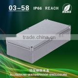 Aluminum box waterproof box outdoor metal control box junction box power supply box button box