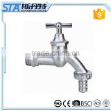 ART.2008 Traditional Brass Bathroom Laundry Wall Mount Washing Machine Water Faucet Tap Stop Valve Outdoor Garden Faucet Tap