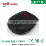 < Must solar> EP1100 Pro series modified sine wave auto ac power home ups inverter