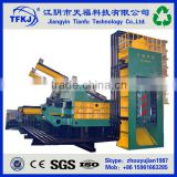 High efficiency YDJ-6300 Scrap car and metal iron steel cutting shear press baler (High Quality)
