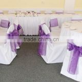 20*275cm In Stock New Organza Chair Sashes Bow Cover Wedding Events Supplies Party Decoration