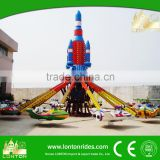 Factory price kids thrilling rides small amusement rides self control plane rides for sale
