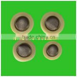 Hot sale silicone round rubber metal washer with filter