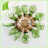 20x20MM Square(Assorted Colors)Glass Bottles for necklace glass swing top bottles 750ml swing aluminium caps for glass bottles