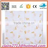 "Hot Sales 100% Bamboo Muslin Swaddle Blanket Wholesale 47x47"" After Washing By Trade Assurance"