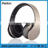 PB04B Stretchable and Folding gaming headset with wireless/wired headphone, MP3 player and FM radio