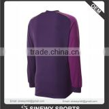 Similar Products Men's 100% Polyester Knitted cooldry long sleeves different cuff and neck foam padding on elbow goal