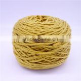 50%cotton 50% polyester yarn , 32s 16ply hand knitting yarn 180g/ball , wholesale ,hand knitting blend yarn