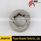 "404""-7 Chain Saw Parts Sprocket Rim, link chain wheel, Clutch Drum Sprocket Cover with Bearing spare parts of chain saw"