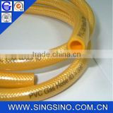 "Flexible Gas Hose in PVC Cover And Polyester Fibre Reinforcement 3/8"" / Flexible PVC Gas Hose ID 10mm"