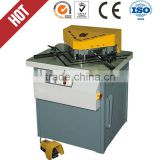 v notching cutting machine, QF28Y-4*200 sheet metal notcher ,angle notcher Adjustable and fixed angle chute cutting machine