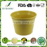 Low price Hot design Degradable plant bamboo pot eco