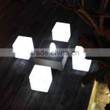 waterproof LED Cube with RF remote, party, event, home decor, bar, night club accessories