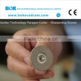 High quality!! cutting grinding stone knife&stone sharpening cutter for different garment CAD cutting machine