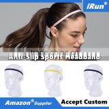 Men & Women Touchless Head Hair Under Sports Headband Manufacturer - Thin Comfortable Elastic Silicone Grip Exercise Hairbands