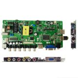 24 inch LED TV MAIN BOARD WITH TWO USB MULTIMEDIA FUNCTION