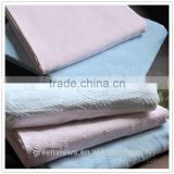 Cotton soft baby blankets cotton bed spreads cotton knitted throw blanket,kids foot coverlet