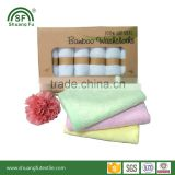 Ultra Soft 100% Bamboo Fiber New Born Baby Gift Face Wipes Bamboo Baby Washcloths