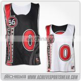 Customize Men's reversible sublimated Dry fit lacrosse jersey
