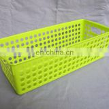 plastic carry basket square fruit vegetable plastic basket