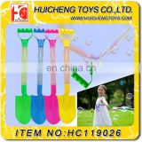Magic multifunction soap bubble wand toys colorful 46cm sand shovel beach set EN71