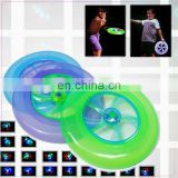 Custom Printed solid Flying Disc Led Frisbee pet toy wholesale