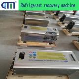 Central air conditioning maintenance with oil free refrigerant recovery machine