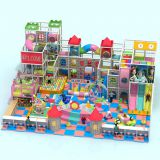 HLB-I17090 Toddler Kids Funland Children Castle Theme Playground