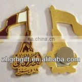 Customized pin for Qatar National Day with gift box